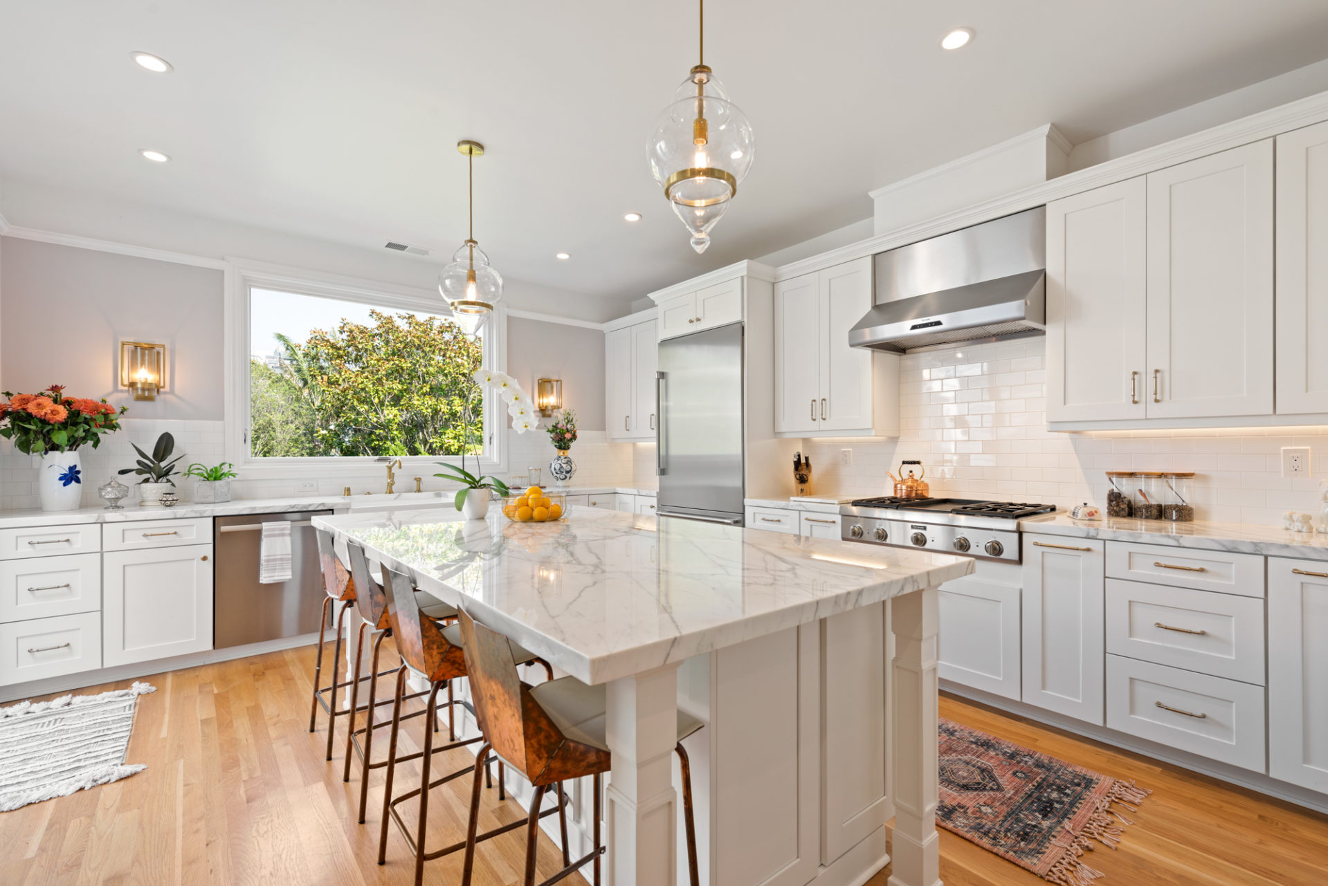 beautiful updated kitchen in SF